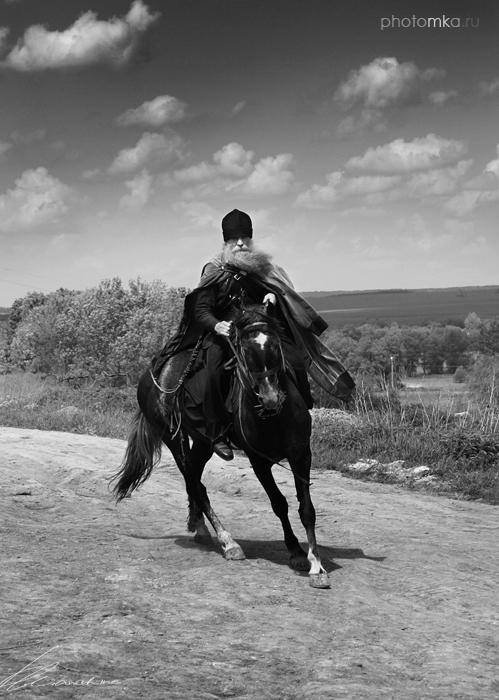 "фото ""и один! в поле воин"" метки: черно-белые, портрет, мужчина"