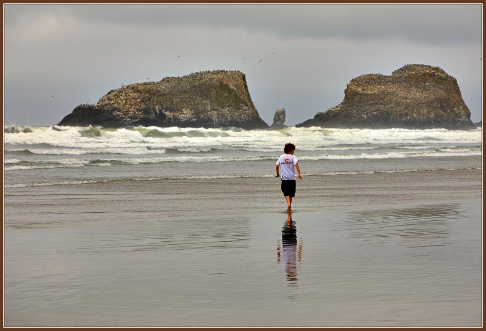 """фото """"Мальчик и Океан"""" метки: пейзаж, вода"""
