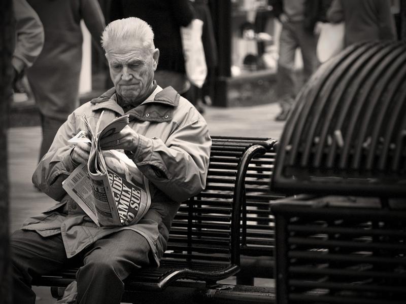 """фото """"Осенние новости"""" метки: портрет, мужчина"""