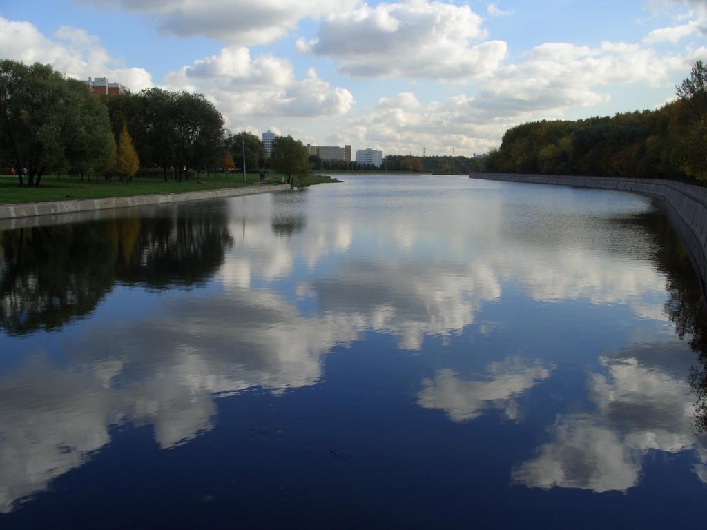 """фото """"Октябрь в Москве"""" метки: пейзаж, облака, осень"""
