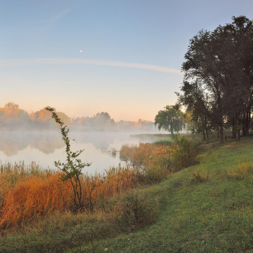 """фото """"Осень.Пора туманов..."""" метки: пейзаж, осень"""