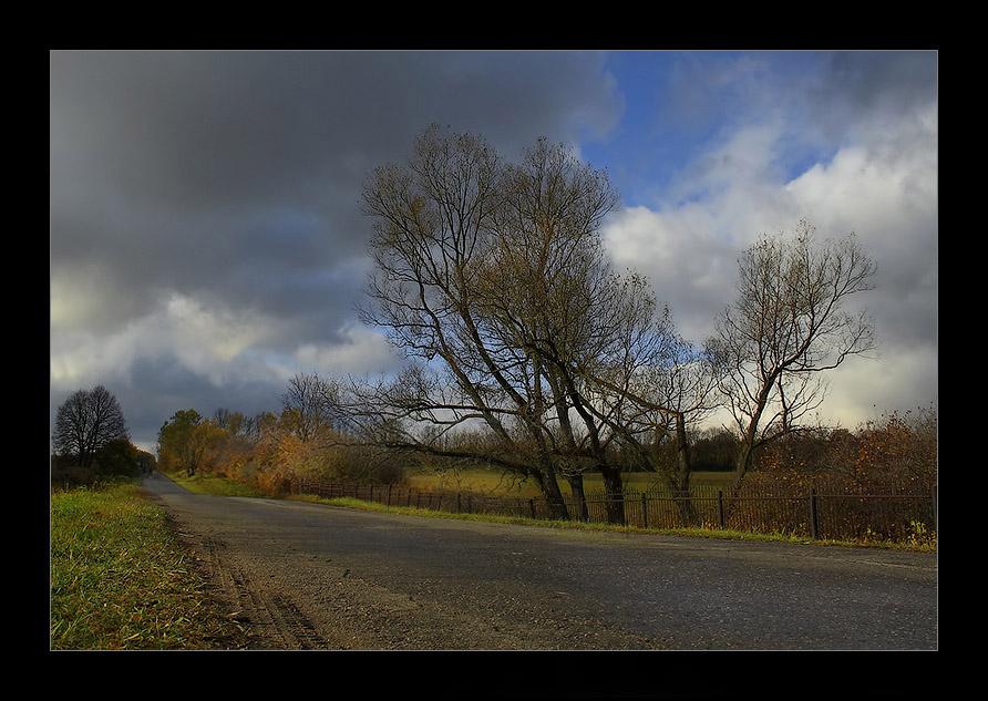 """фото """"Провожая..."""" метки: пейзаж, осень"""