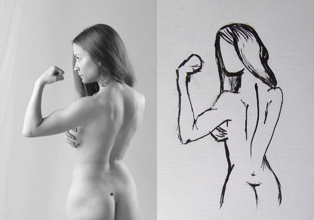 "фото ""Диалектика 3"" метки: портрет, ню, женщина"