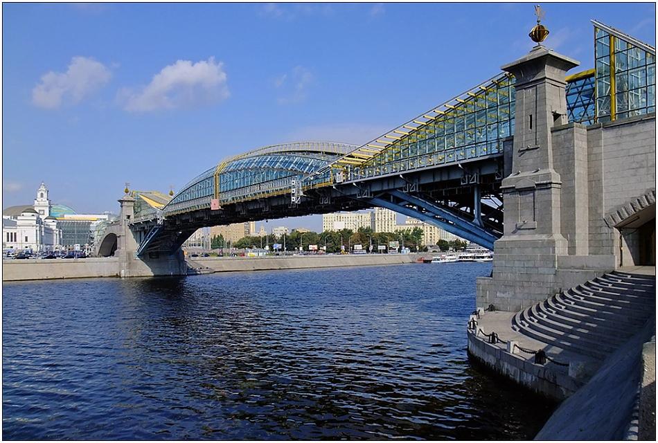 """фото """"Мост Богдана Хмельницкого"""" метки: архитектура, пейзаж,"""