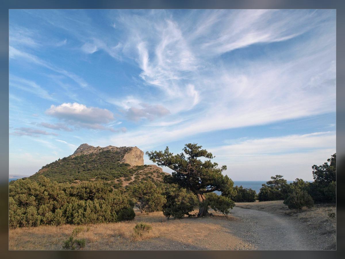 """фото """"Дорога к морю"""" метки: пейзаж, горы"""