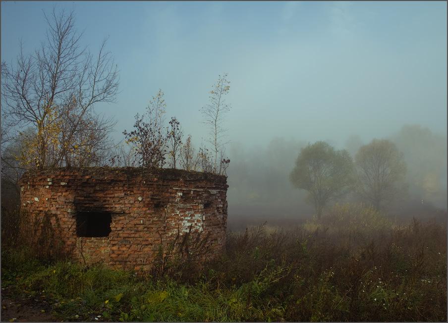 """фото """"10 лет спустя..."""" метки: пейзаж, закат, осень"""