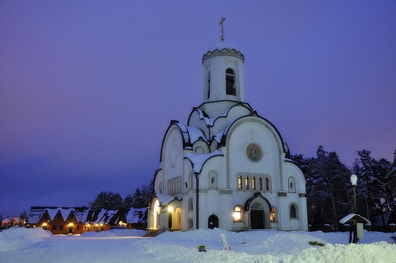 """фото """"Елизаветинская церковь"""" метки: архитектура, пейзаж,"""