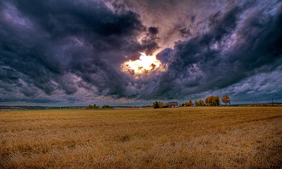 """фото """"October..."""" метки: пейзаж, облака, осень"""