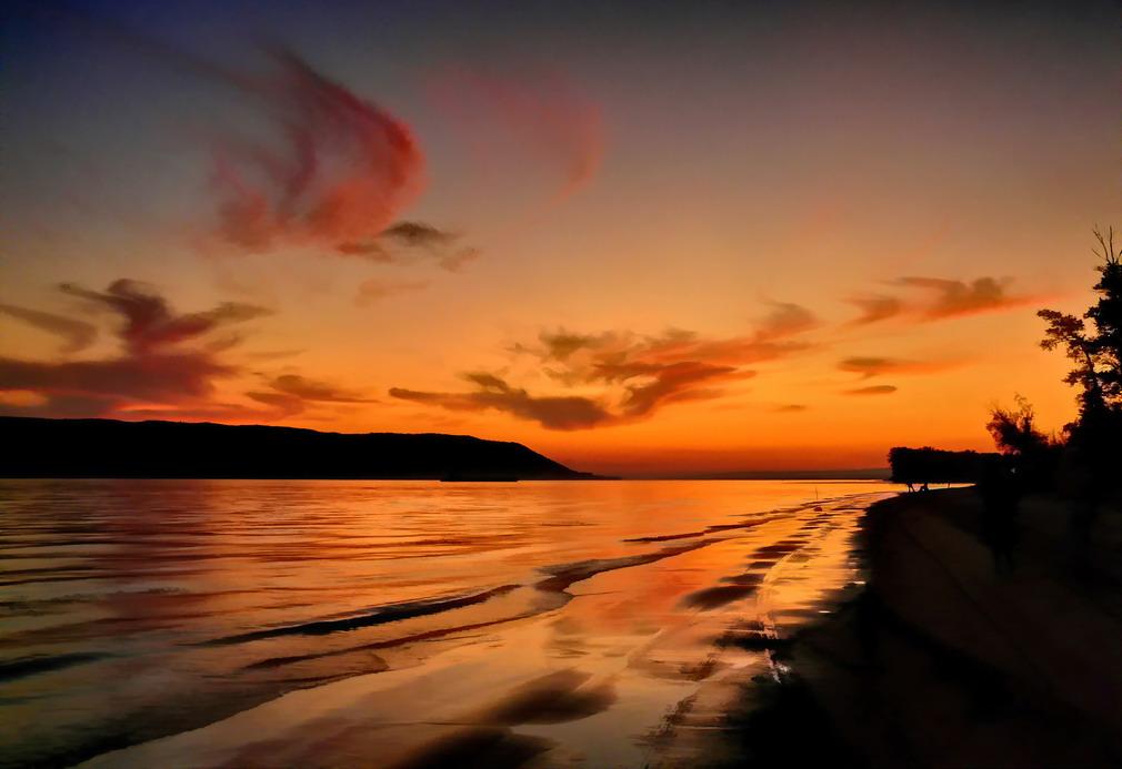 """фото """"Вечер у Жигулей"""" метки: ,"""