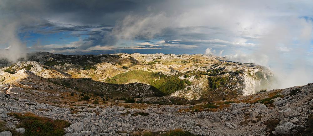 """фото """"Достать до облака!"""" метки: пейзаж, панорама, горы"""