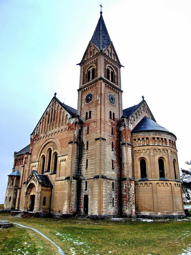 "фото ""Used church in Bohemia"" метки: архитектура, путешествия, пейзаж, Европа"
