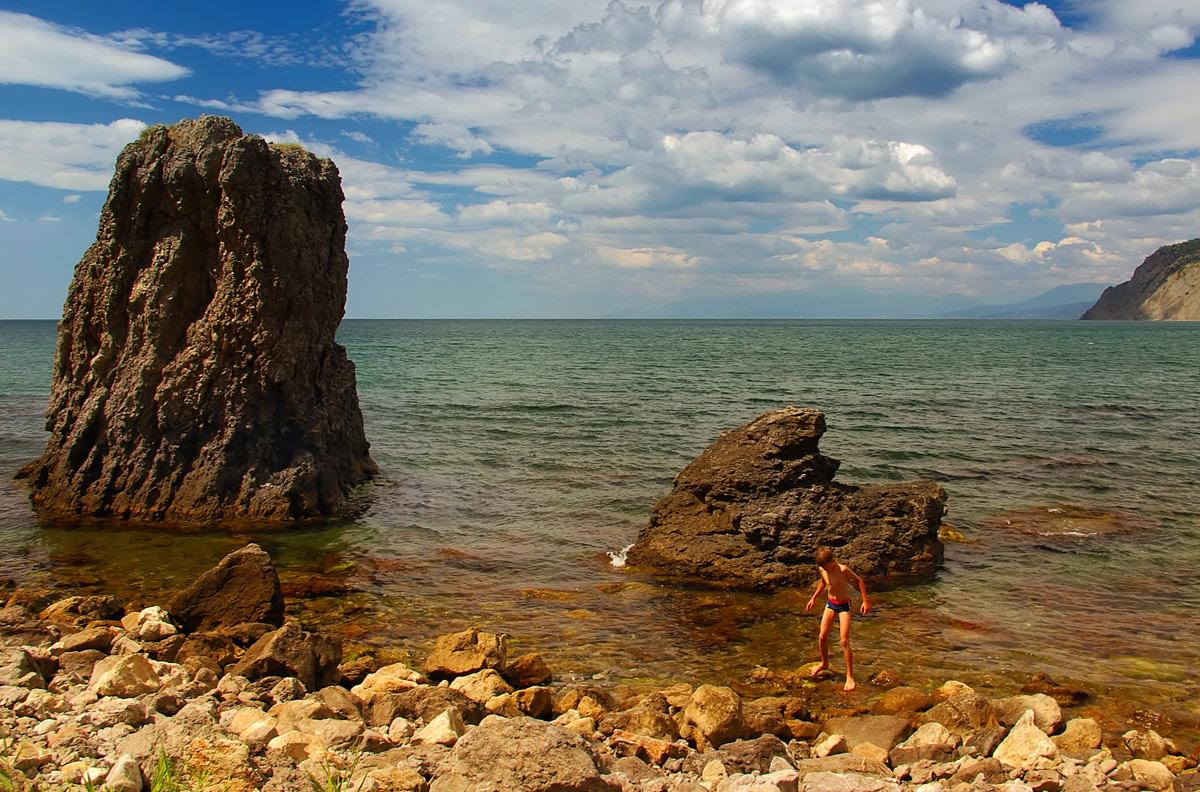 """фото """"Морские камушки"""" метки: пейзаж, лето"""