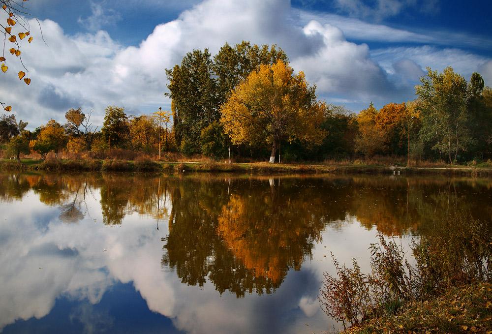 "фото ""Осень в старом парке"" метки: пейзаж, осень"