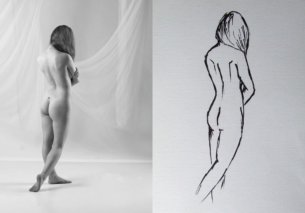 "фото ""Диалектика 4"" метки: портрет, ню, женщина"