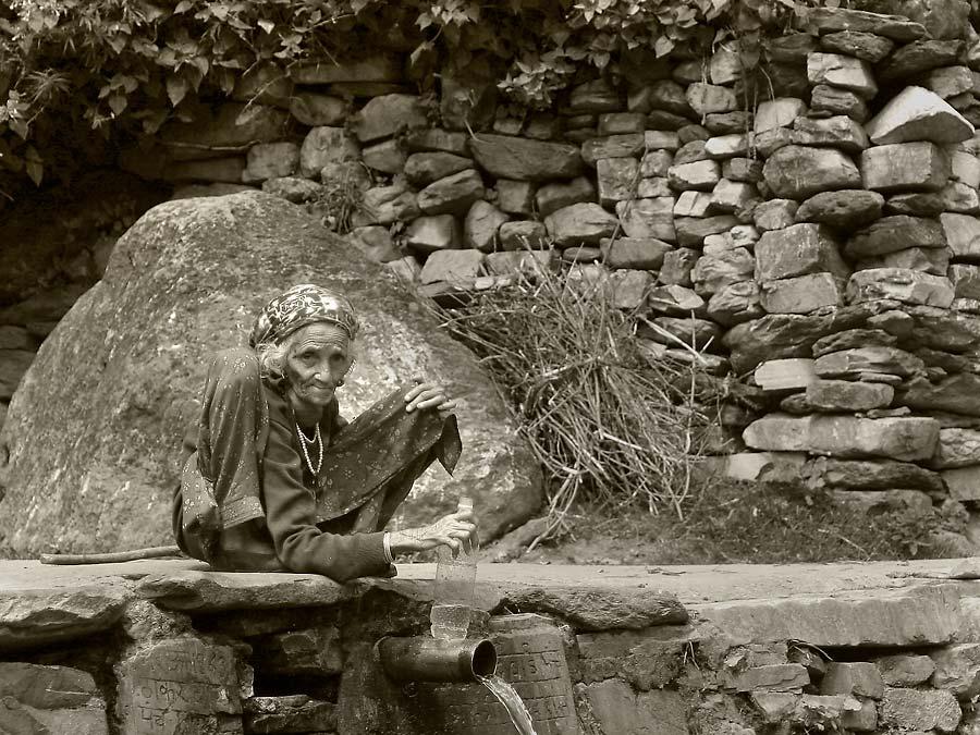 "фото ""Life in the mountains"" метки: путешествия, портрет, Азия, женщина"