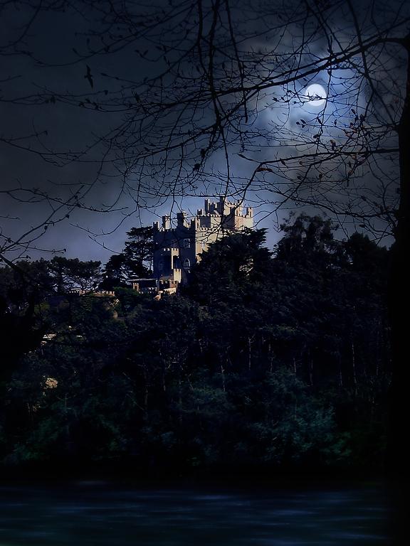 "фото ""Will be tonight..."" метки: digital art, пейзаж, ночь"