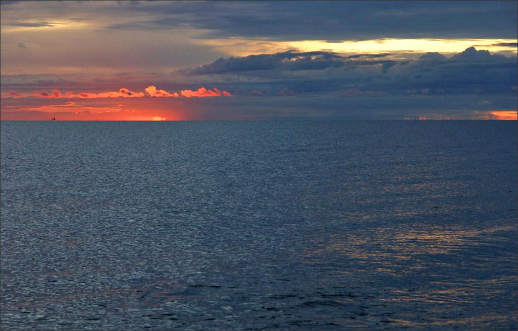 "фото ""Ладога, 06:45"" метки: пейзаж, закат"