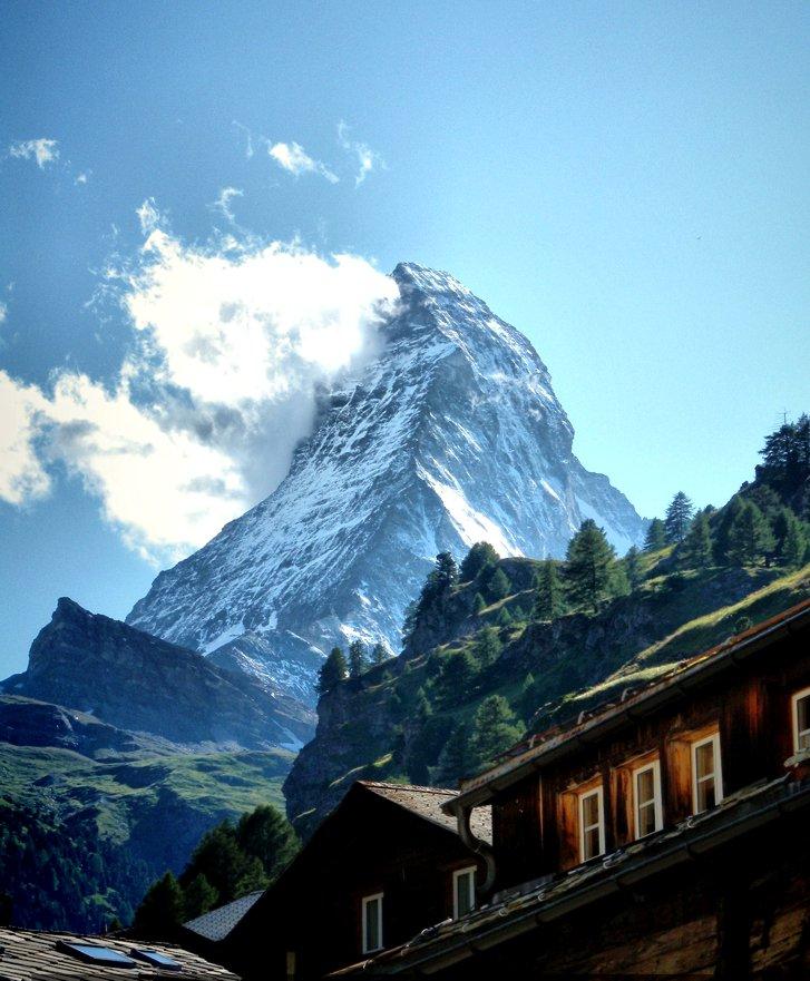 """фото """"Matterhorn"""" метки: пейзаж, горы"""