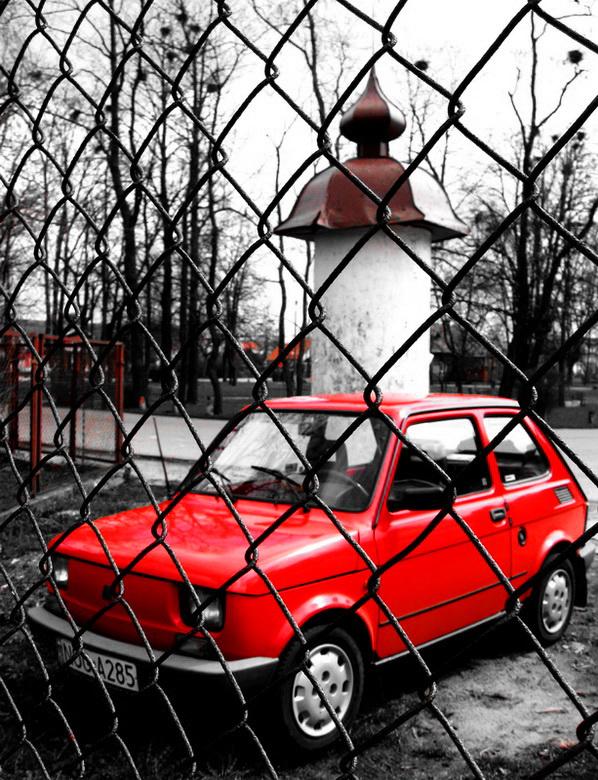 """фото """"Красное и серое. Часть 4. Сувалки."""" метки: город, фрагмент,"""