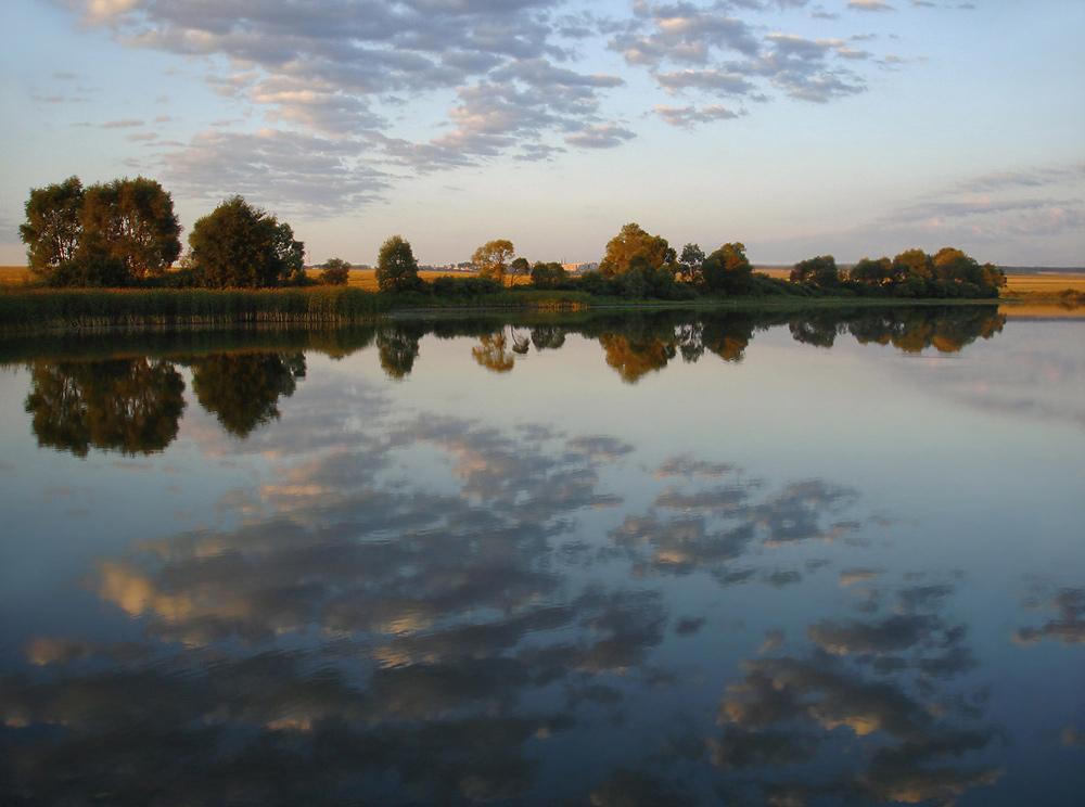 "фото ""сентябрьское утро"" метки: пейзаж, осень"