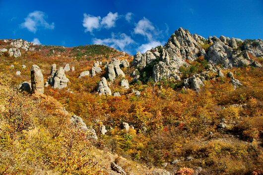 """фото """"Долина Привидений"""" метки: пейзаж, горы, осень"""
