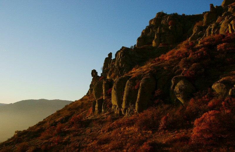 """фото """"Стражи Долины Привидений"""" метки: пейзаж, горы, зима"""