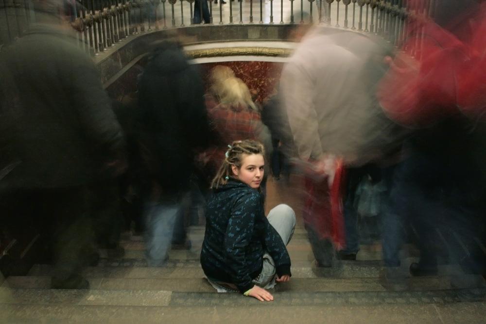 """фото """"В толпе"""" метки: жанр, город,"""