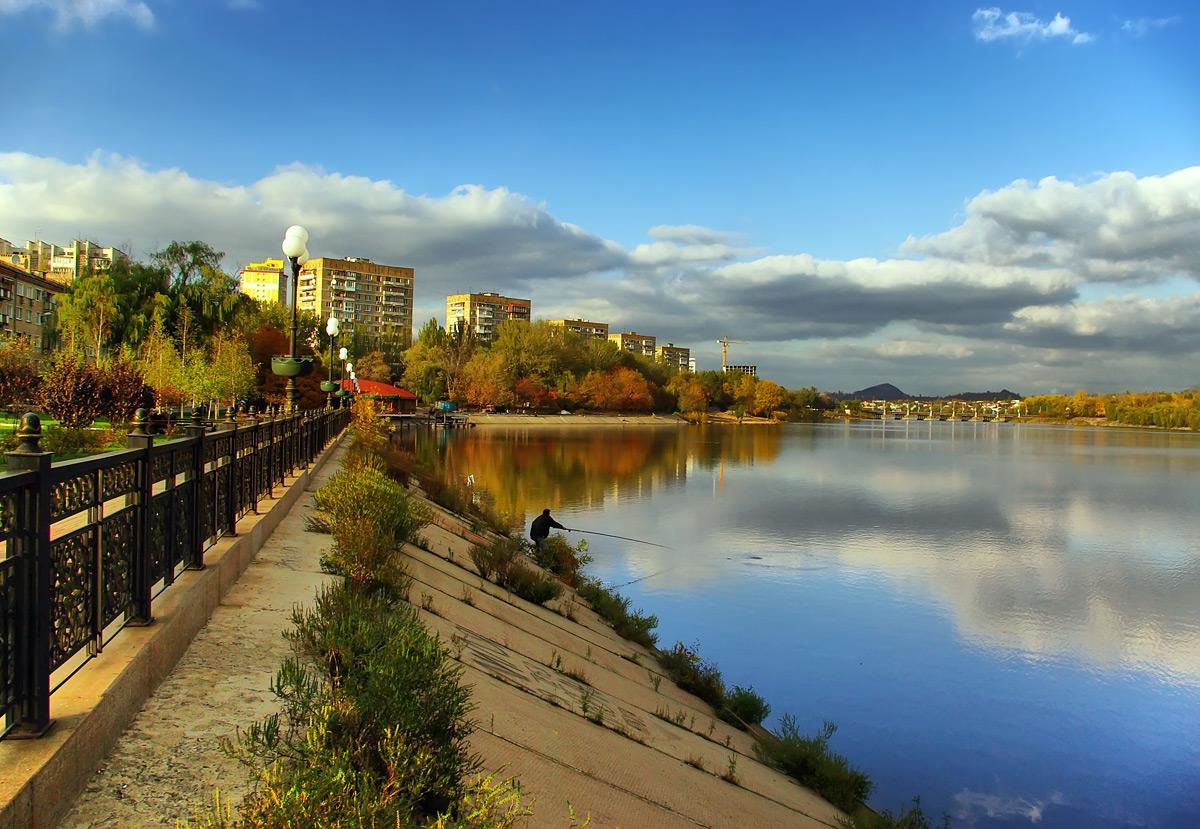 """фото """"В городе осень..."""" метки: пейзаж, город, осень"""