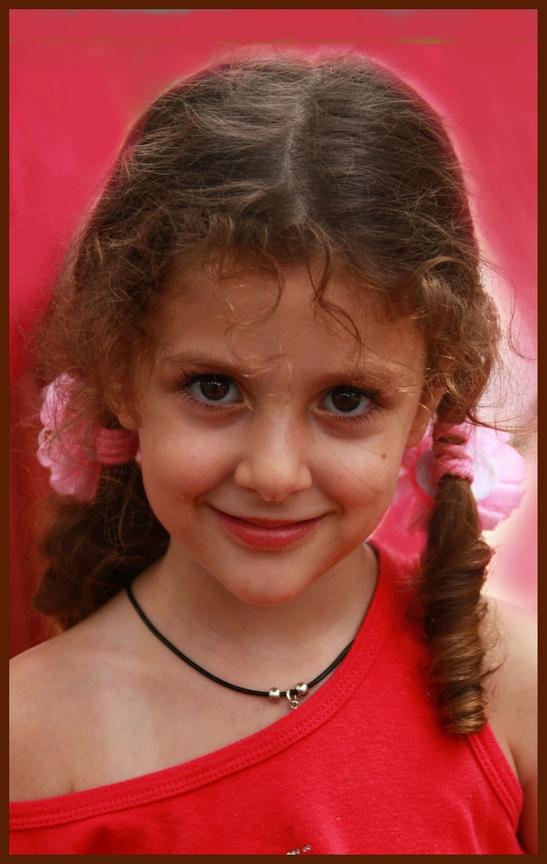 "фото ""Девуличка!"" метки: портрет, дети"