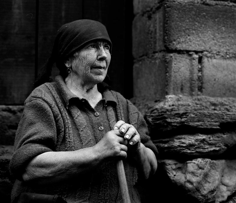 """фото """"Rural Moments"""" метки: портрет, черно-белые, женщина"""