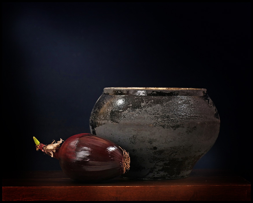 "фото ""Натюрморт с луком No.2"" метки: натюрморт,"