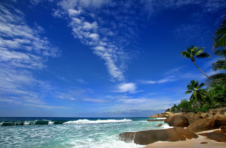 """фото """"Январь. Сейшелы."""" метки: пейзаж, путешествия, вода"""