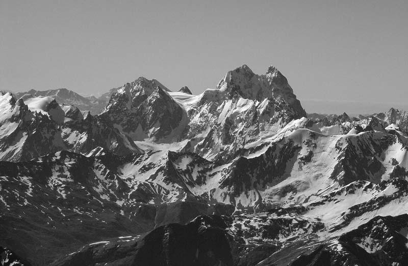 """фото """"#9"""" метки: пейзаж, черно-белые, горы"""