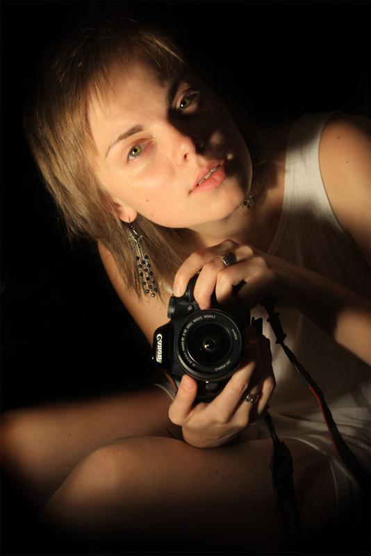 "фото ""self-portrait"" метки: портрет, женщина"