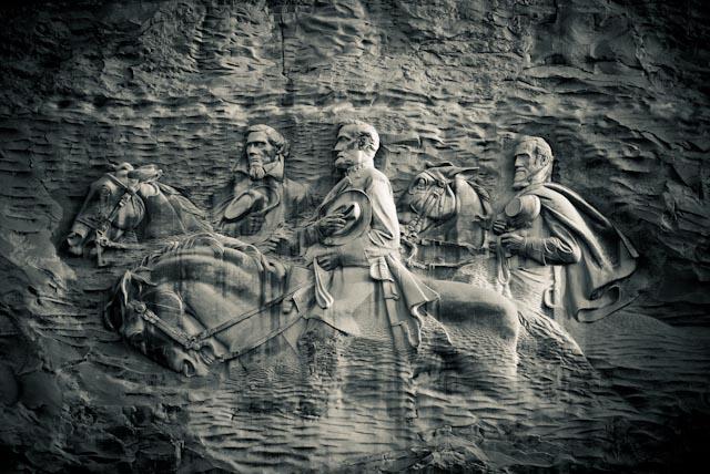 """фото """"Stone Mountain Carving"""" метки: путешествия, пейзаж, Северная Америка, горы"""