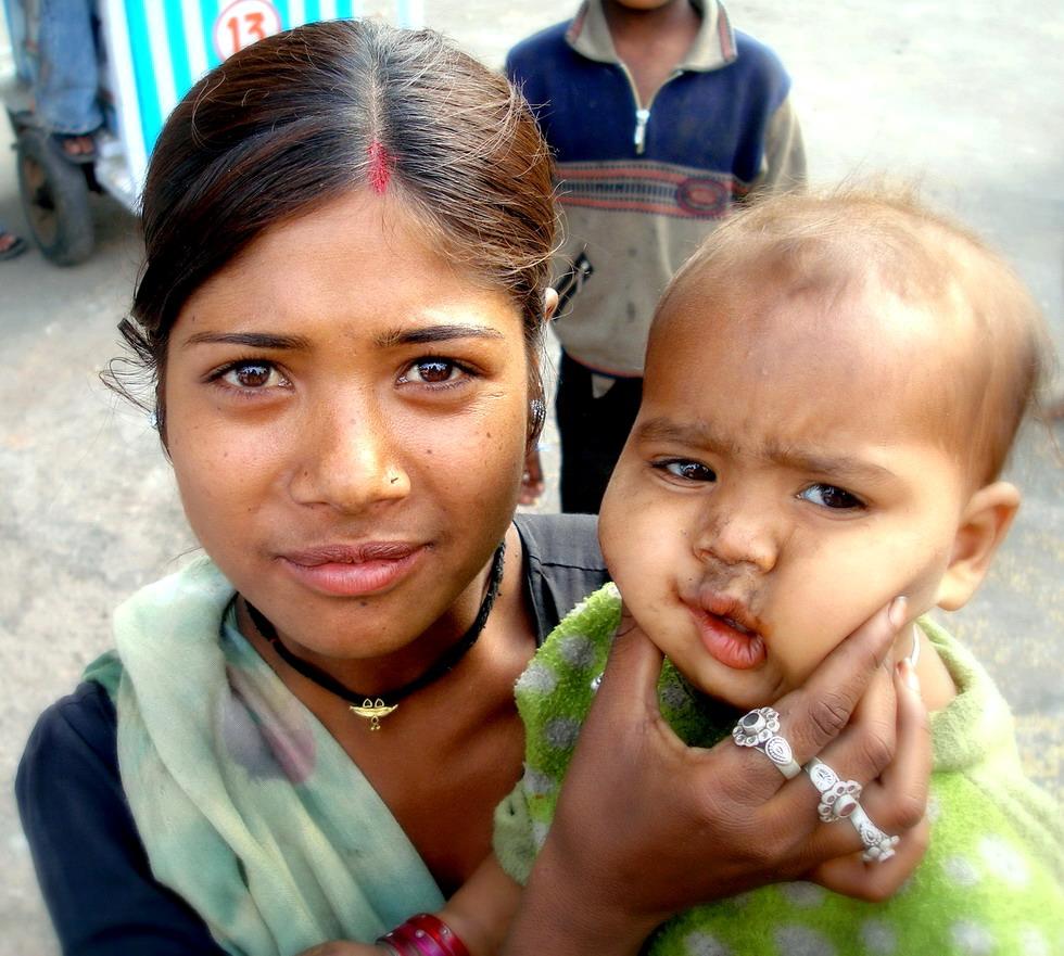 """фото """"индийская мамочка ."""" метки: портрет, путешествия, Азия, женщина"""
