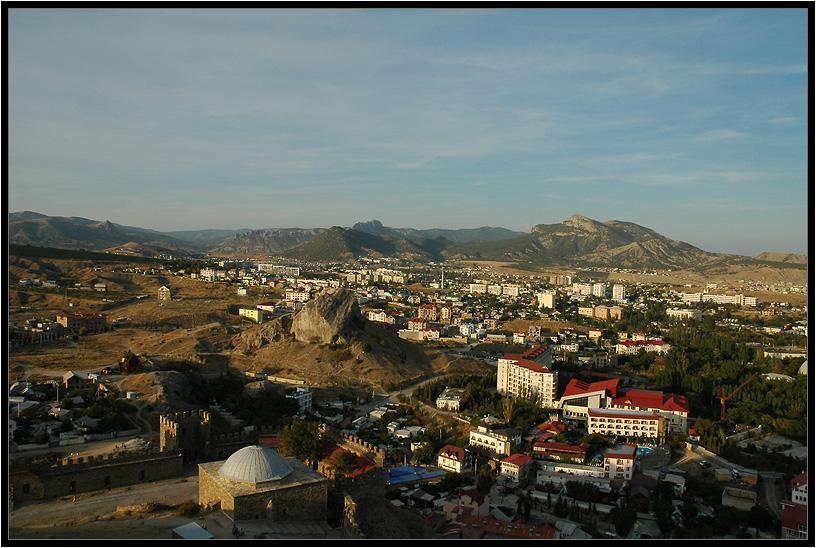 """фото """"Крым, Судак"""" метки: путешествия, пейзаж, Европа, горы"""