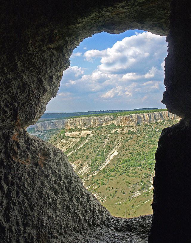 """фото """"Чуфут-Кале-4"""" метки: архитектура, путешествия, пейзаж, Европа"""
