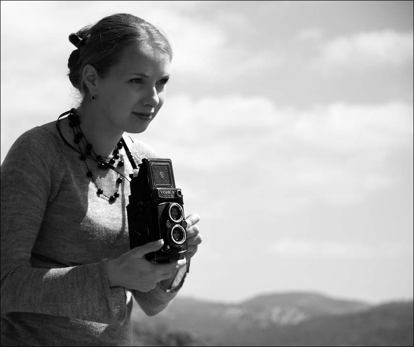 "фото ""model and photographer"" метки: черно-белые, жанр,"