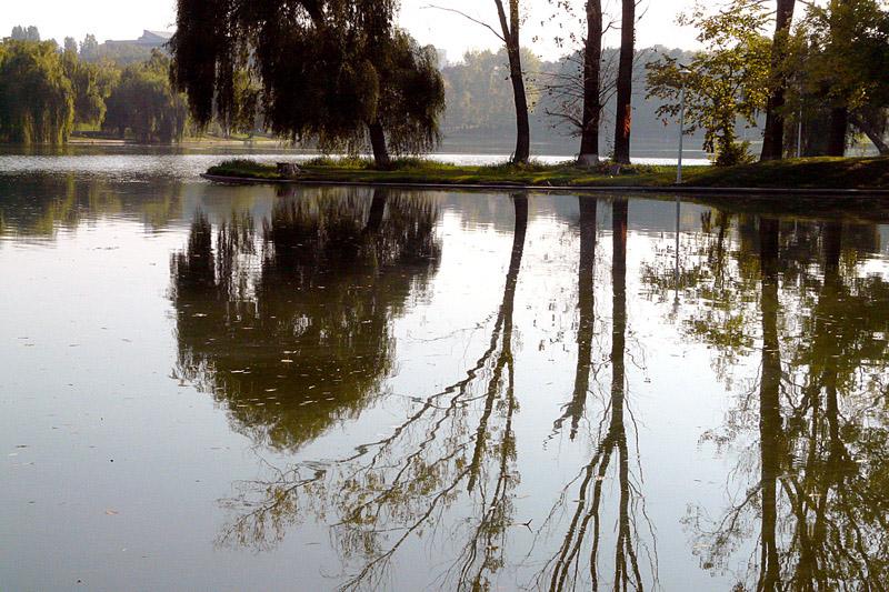 "фото ""Quiet morning / Тихое утро"" метки: пейзаж, вода, осень"