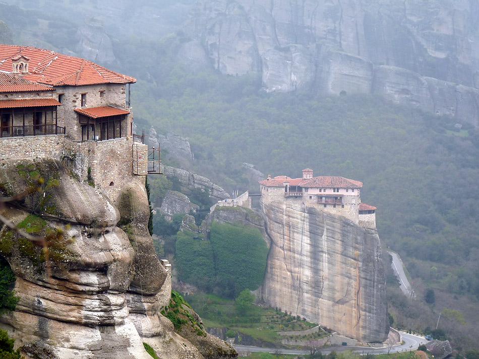 "фото ""Туманы Метеоры"" метки: путешествия, Европа"