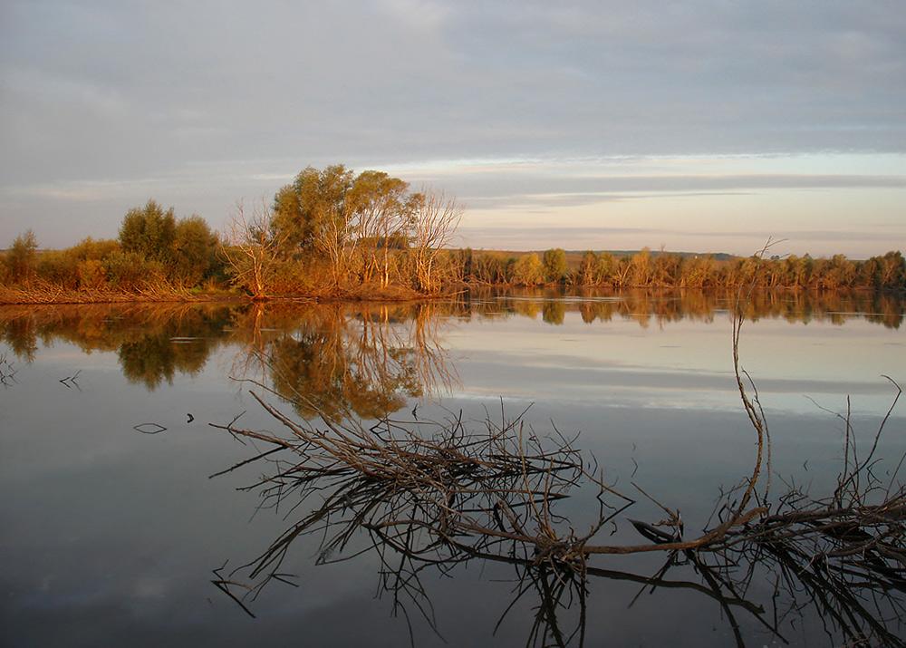 """фото """"Рассветное..."""" метки: пейзаж, осень"""