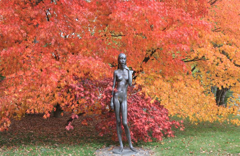 "фото ""Нимфа осеннего леса"" метки: пейзаж, осень"