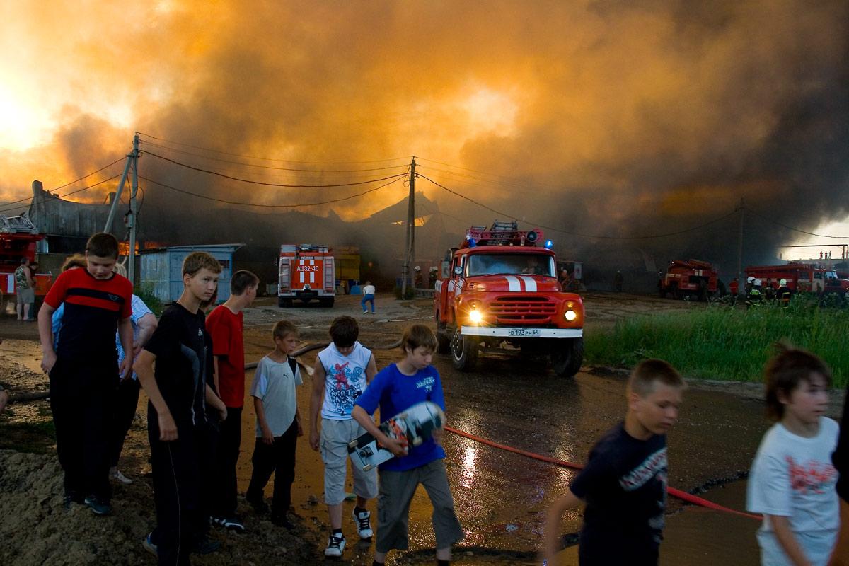 """фото """"дети на пожаре"""" метки: репортаж, город,"""