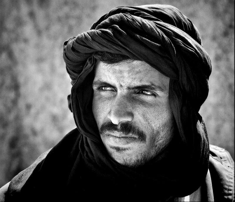 """фото """"Youssef, the nomad"""" метки: портрет, черно-белые, мужчина"""