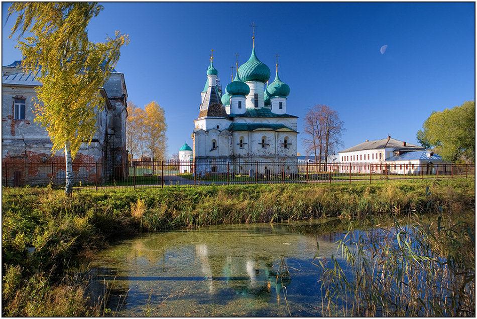 "фото ""Авраамиев монастырь"" метки: архитектура, пейзаж,"