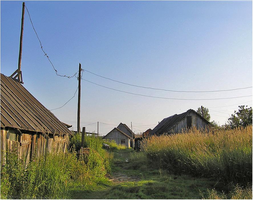 """фото """"Деревенская тишина."""" метки: пейзаж,"""