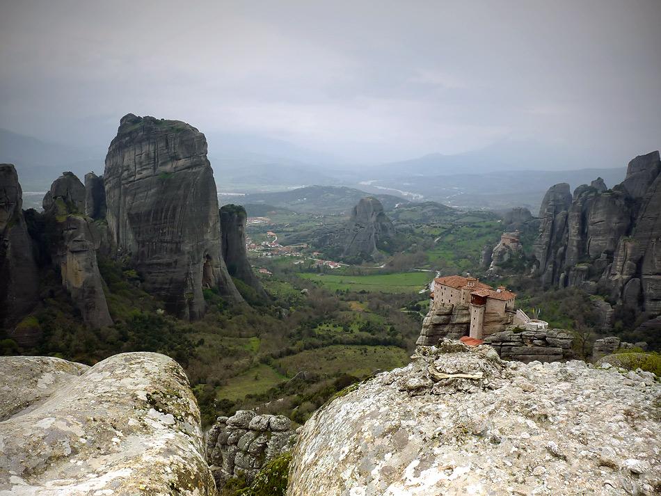 "фото ""Метеора - между небом и землей"" метки: путешествия, Европа"