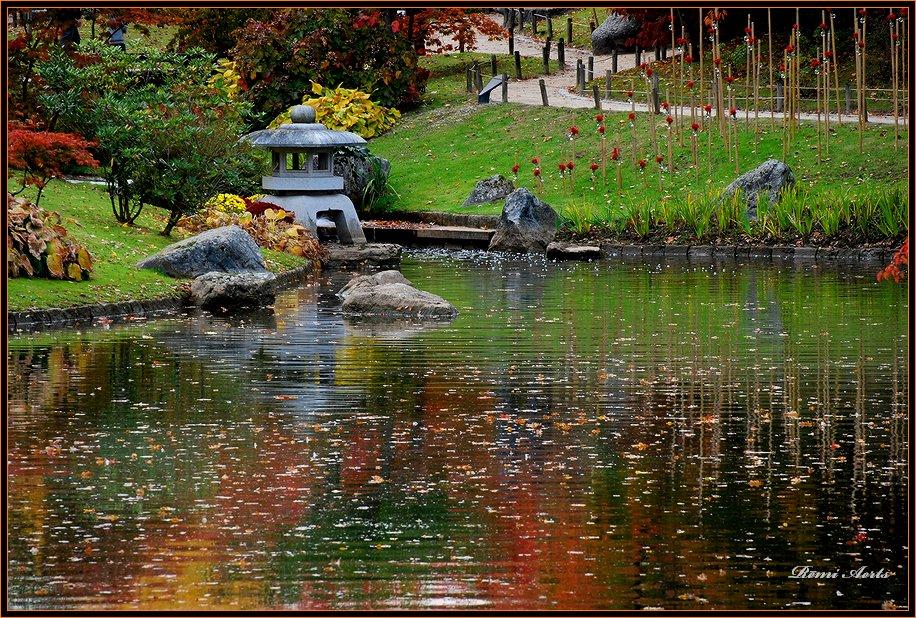 """фото """"Japanese garden"""" метки: пейзаж, вода, осень"""