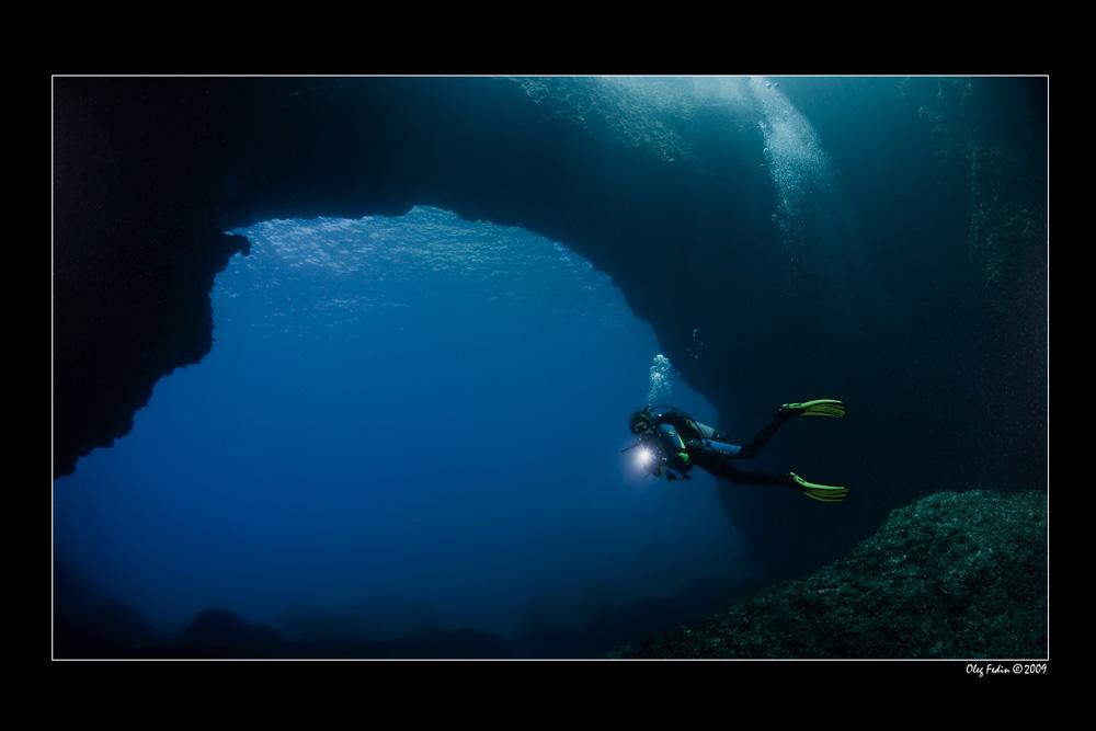 """фото """"Blue hole по мальтийски"""" метки: подводные,"""